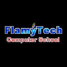 FlamyTech Computer School's Logo