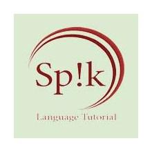 SP!K - Speak  Language Tutorial's Logo