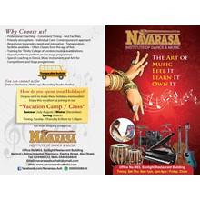 Navarasa Institute of Dance and Music's Logo