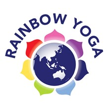 Rainbow Yoga's Logo