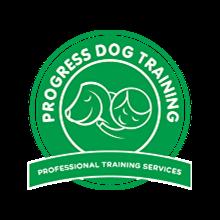 Progress Dog Training's Logo
