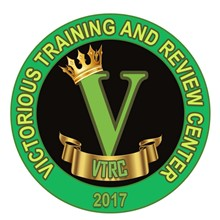 Victorious Training & Review Center's Logo