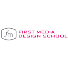 First Media Design School's Logo