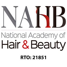 National Academy of Hair and Beauty - NAHB's Logo