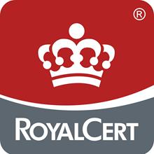 RoyalCert's Logo