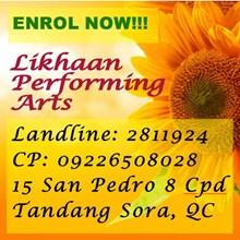 Likhaan Performing Arts Studio's Logo