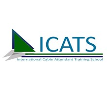 ICATS flight attendant training school's Logo