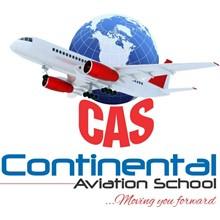 Continental Aviation School's Logo