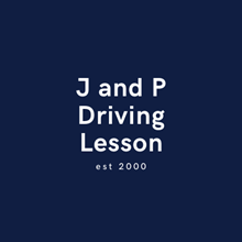 J and P Driving Lesson's Logo