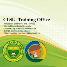 CLSU Training Office's Logo