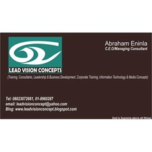 Lead Vision Training Providers and Consulting's Logo