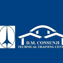 D.M. Consunji Technical Training Center's Logo