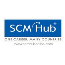 SCM Hub International B School's Logo