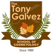 The Tony Galvez School of Cosmetology's Logo