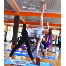 AYM Yoga School's Logo