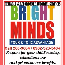 CEBU BRIGHT MINDS TUTORIAL & LEARNING CENTER's Logo