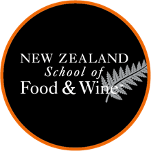 NZ School of Food & Wine's Logo