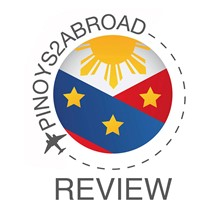Pinoys2Abroad Review Center, Inc.'s Logo