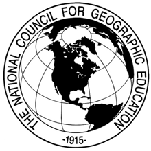 National Council for Geographic Education's Logo