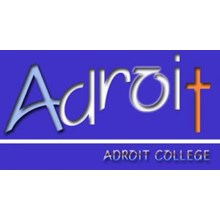 Adroit College- Korean School's Logo