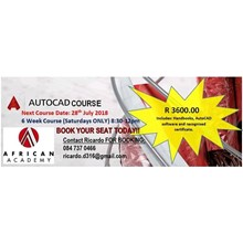 African Academy AutoCAD Course 's Logo