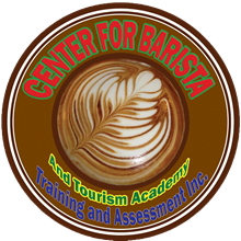 Center for barista and Tourism Academy's Logo