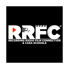 Recording Radio Film Connection and CASA Schools's Logo