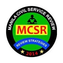 Manila Civil Service Review (MCSR)'s Logo
